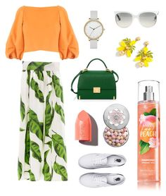 """""""First try. Inspired by Sweet Sun."""" by anutik101 ❤ liked on Polyvore featuring TIBI, Ray-Ban, Henri Bendel, J.Crew, Vans, Skagen, PUR, Guerlain, Summer and beach"""
