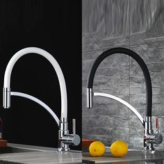 Design Küche Wasserhahn Wasserkran Spültischarmatur Wasserfall Mischbatterie Neu