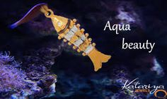 Trendy Dual Colour Fish Gold Pendant Buy Now : http://buff.ly/1PHkNoC COD Option Available With Free Shipping In India