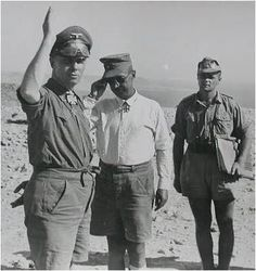 Rommel Johannes Erwin Eugen. D.A.K. Deutsche Afrikakorps.