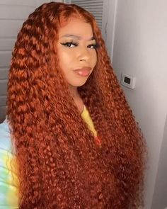 Ombre Wigs, Deep Curly, Lace Wigs, Crochet, Hair, Color, Fashion, Moda, Fashion Styles