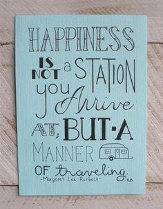 """""""Manner Of Traveling"""" Margaret Lee Runbeck"""