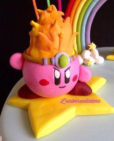 Kirby cake  - Cake by Elena