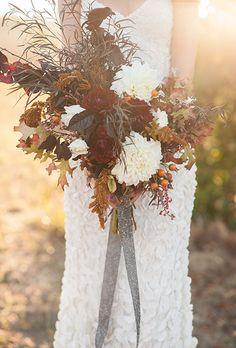 Browse 25+ gorgeous #fallwedding #bouquets right now!   Brides.com
