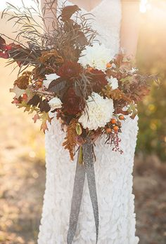 Browse 25+ gorgeous #fallwedding #bouquets right now! | Brides.com