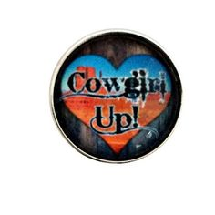 S-2008 Cowgirl Up Snap 20mm for Snap Charm Jewelry by SimpleEleganceCole on Etsy