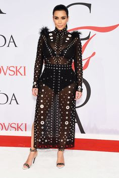 2015 CFDA Awards: Kim Kardashian West in Proenza Schouler