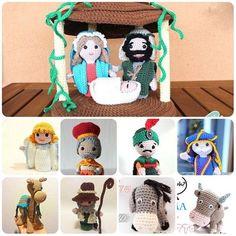Come fare presepe a uncinetto - Schemi in Italiano Schemes in Italian to make crochet crib. Amigurumi Tutorial, Pebble Art, Crochet Toys, Quilling, Origami, Pokemon, Crochet Patterns, Christmas Decorations, Teddy Bear