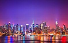 New York City Night Lights   WALLPICS4K