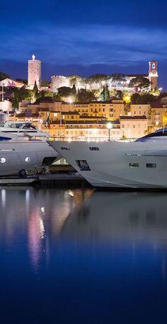 Miss M's yacht ~ Cannes Harbor