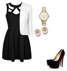 """""""4"""" by alejandraal on Polyvore featuring Ally Fashion, Christian Louboutin, L.K.Bennett, Tory Burch and Kate Spade"""