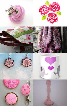 Pinks by Shannon on Etsy--Pinned with TreasuryPin.com