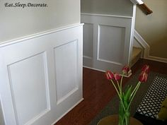 Adding Character to your home {Molding}