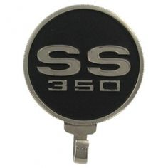 Black and silver Chevrolet SS 350 Cast Wall Hook⎜Open Road Brands