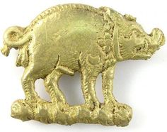Viking gold discovered  Dec. 2012. The copper-alloy boar mount that was found on the Thames foreshore could have belonged to Richard III. The hoard of Viking gold and silver metalwork was found on farmland near Bedale, near Northallerton. Richard III, who had strong links with North Yorkshire, took the white boar as his sign, while badges in the form of the animal were ordered for the king's cremation in 1485.