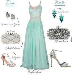 Vestido de madrinha longo para o dia e para a noite - Madrinhas de casamento