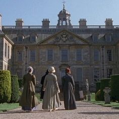 Belton House is a gorgeous century manor home in Lincolnshire and appears in the BBC miniseries as Rosing Park, home to Darcy's stern and stuffy aunt, Lady Catherine de Bourgh. Most Ardently, Jennifer Ehle, Jane Austen Movies, Bronte Sisters, Becoming Jane, Elizabeth Bennet, Mr Darcy, Cinema, Film Music Books