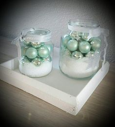 December, Jar, Seasons, Winter, Christmas, Home Decor, Winter Season, Xmas, Seasons Of The Year