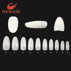 3.36$  Watch here - http://aiqen.worlditems.win/redirect/2030156265 - 500pcs False Nails French Nail Art Tips Oval Natural Fake Nail Tips Half Cover Tips 10 Sizes Unhas UV Salon Manicure Decorative   #buymethat