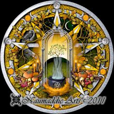 Samhain - Witches' Calendar of the Year.