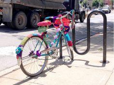 Repurposed bikes bring public art to downtown Glen Ellyn....