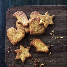 Crisp cinnamon biscuits, the perfect Scandinavian Christmas recipe. For the full recipe, click the picture or see www.redonline.co.uk