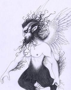 Pan Mythology   The Great God Pan by *verreaux on deviantART