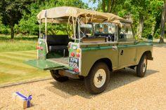 Classic Land Rover Series 3 - Classic Wedding Car