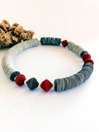 Image result for collane perle di carta
