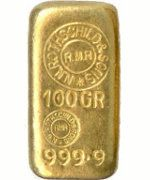 Rothschild Goldbarren 100 Gramm