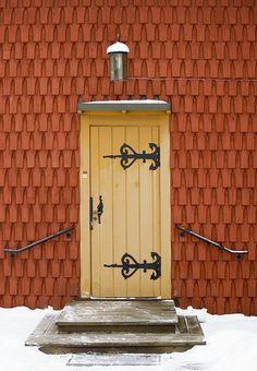 Door - Kopparberg, Ljusnarsberg, Sweden