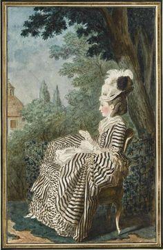 Louis Carrogis Carmontelle made la comtesse de belsunce, 1775