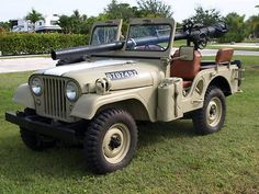 1965 ISRAELI CJ5 GUN JEEP - VETERAN OF THE SIX DAY WAR COMPETE WITH 106MM RECOILLESS RIFLE