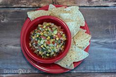 Corn, Avocado and Black Eyed Peas Salsa for New Years