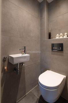 Bathroom Tile Designs, Bathroom Design Small, Bathroom Interior Design, Small Toilet Design, Small Toilet Room, Wc Design, Downstairs Toilet, Bathroom Goals, Minimalist Bathroom