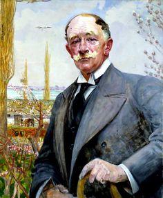 Jacek Malczewski - Portrait of Ignacy Bobrowski, ca 1910-14