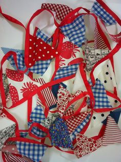 Lovely red white and blue bunting - perfect for Jubilee