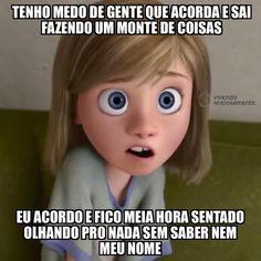 bom dia... ⠀ ⠀ @vivendoansiosamente #ansiedade #vivendoansiosamente #rivotril #transtornodopanico #vivermelhor #psiquiatria #psicologia #ansiolitico #tmj #belohorizonte #tarjapreta #toc #humor Memes Status, Dankest Memes, Funny Memes, Spanish Jokes, Internet Memes, Disney Memes, Funny Relationship, I Don T Know, Laughing So Hard