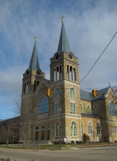 155..........Sacred Heart Catholic Church Cullman Alabama Usa