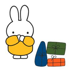 Miffy is paranoid about everything.