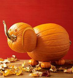 7 Creative Pumpkin-Carving Ideas #pumpkin #carving #ideas #how_to #halloween