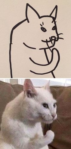 When Your Teacher Keeps Saying You Can't Draw Cats, But Your Paintings Are Photorealistic