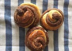 Pajkaszegi kakaós briós Ravioli, Brie, Doughnut, Muffin, Cooking Recipes, Snacks, Baking, Breakfast, Desserts