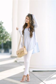 35 beautiful pastel spring outfits #springfashion #outfit
