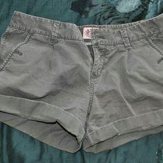 Grey shorts Grey Juicy couture shorts Juicy Couture Shorts Cargos