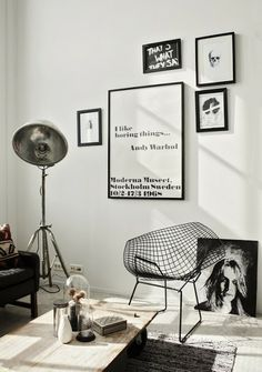 With classic aesthetics and simple details, who else can never get enough of some good minimal interiors? Keep scrolling for some serious interior inspo! Want some more interior inspo? Industrial Interiors, Industrial House, Industrial Style, Industrial Design, Industrial Bedroom, Modern Interiors, Industrial Lamps, Kitchen Industrial, Industrial Apartment
