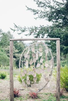 Wooden Dream Catcher Guest Book Alternative | From SF With Love Photography