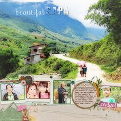 Scrapbooking Ideas for Pages About Taking A Walk | Deborah Wagner | Get It Scrapped