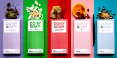 Doisy & Dam Chocolate — The Dieline - Branding & Packaging
