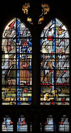 https://flic.kr/p/qaWhJW | Cathédrale de Coutances | Oeuvre de Sylvie Gaudin www.mesvitrauxfavoris.fr/galerie0.htm